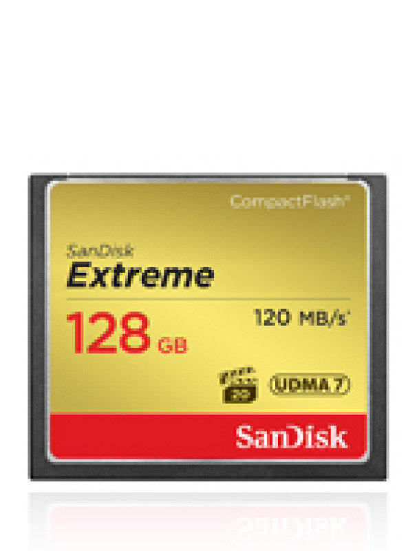 SanDisk 128GB 120MB/s CompactFlash Memory Card