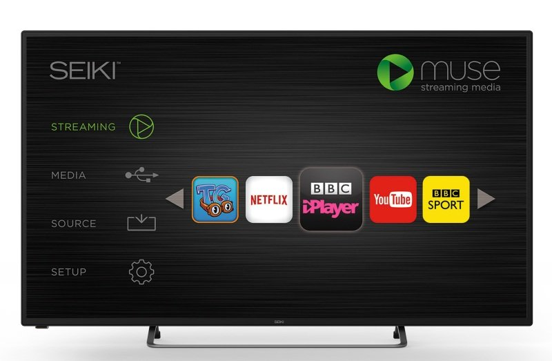 Seiki 50&quot Smart LED Freeview TV