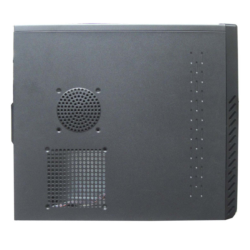 CiT Quartz Micro Black Interior 500W 12cm Black Psu USB3 Port