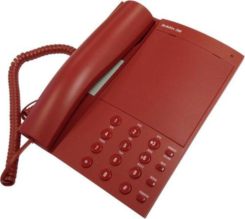 ATL Berkshire 100 Analogue Telephones  Red