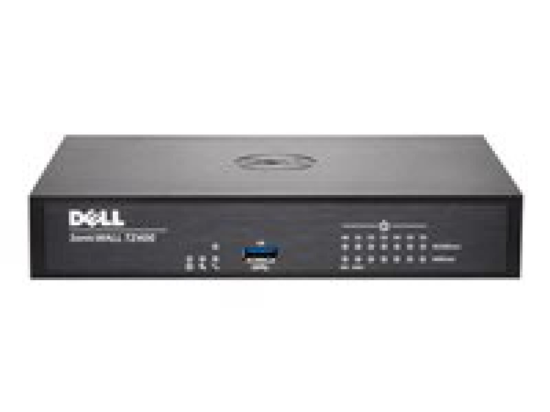 SonicWALL TZ400 Security appliance 7 ports 10Mb LAN, 100Mb LAN, GigE