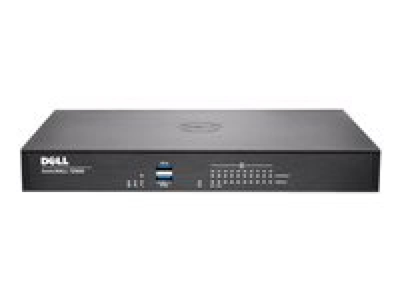 Dell SonicWALL TZ600 High Availability Security appliance 10 ports 10Mb LAN, 100Mb LAN, GigE