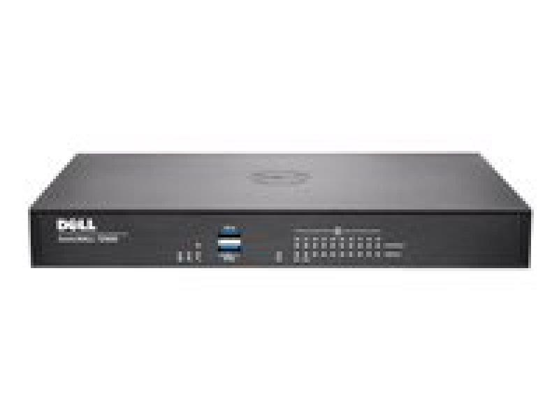 SonicWALL TZ600 Security appliance 10 ports 10Mb LAN, 100Mb LAN, GigE