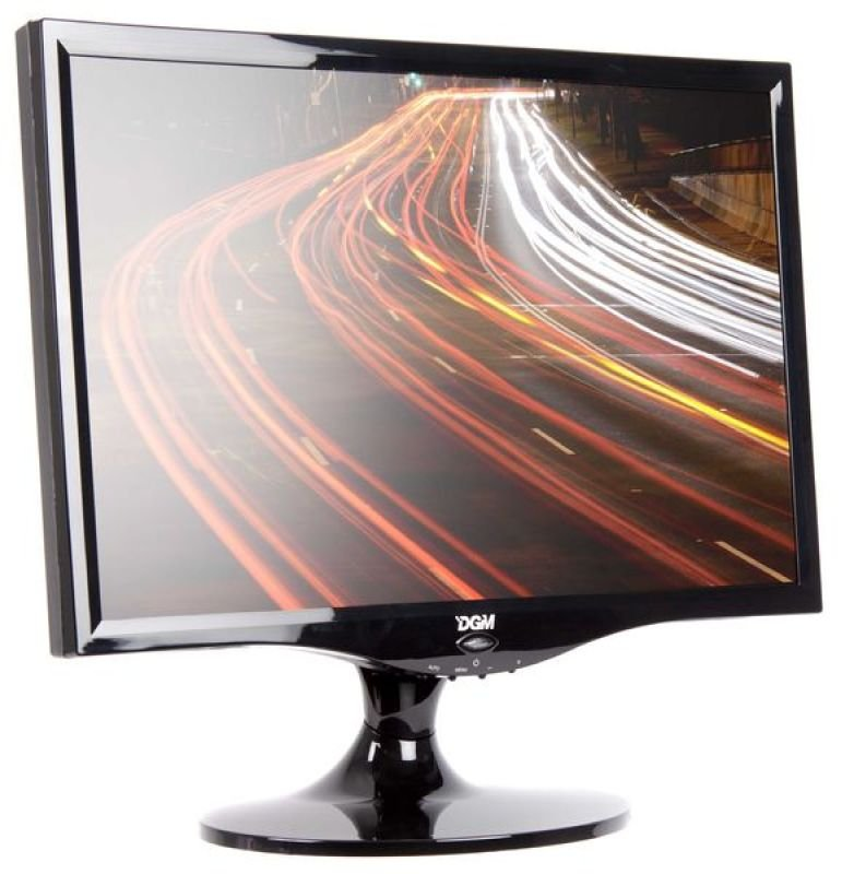 """Digimate L-2280WD TFT LCD 22"""" DVI-D Monitor with Speakers"""