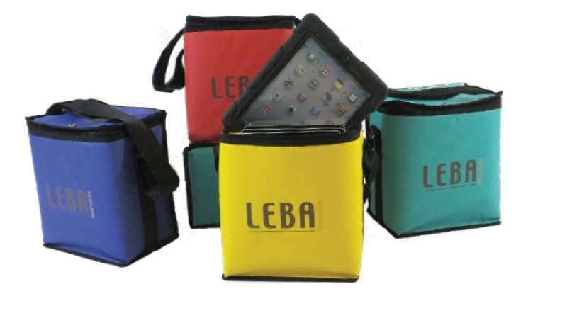 Image of Tabkarri Tablet Bag for Leba Notebox - Green