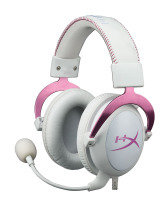 HyperX Cloud II Headset White and Pink for PC PS4 Mac Mobile
