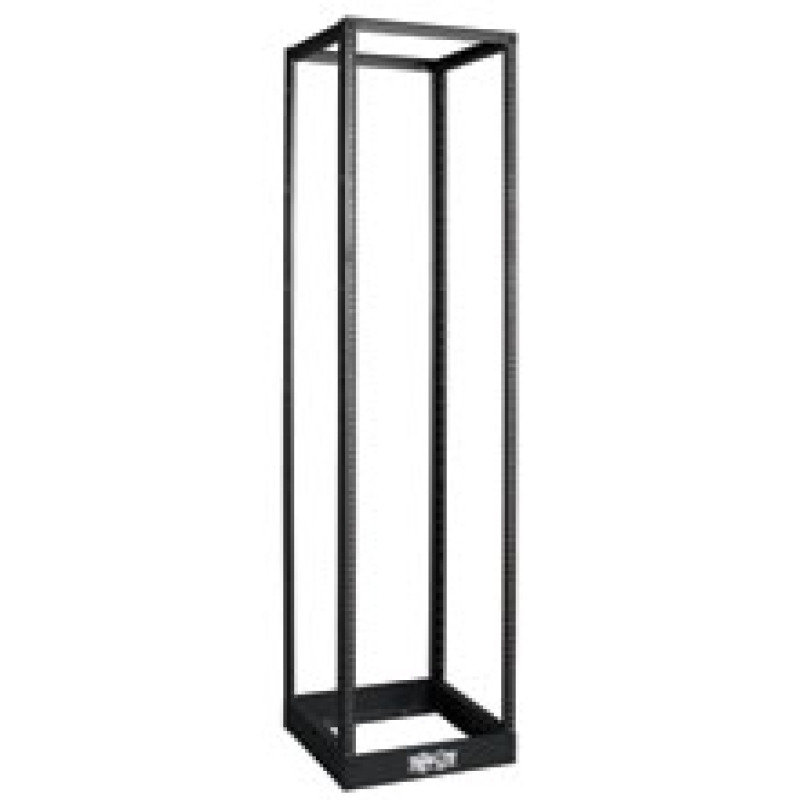 Tripp Lite 45U SmartRack 4 Post Open Frame Rack Cabinet Square Holes 1000lb Capacity