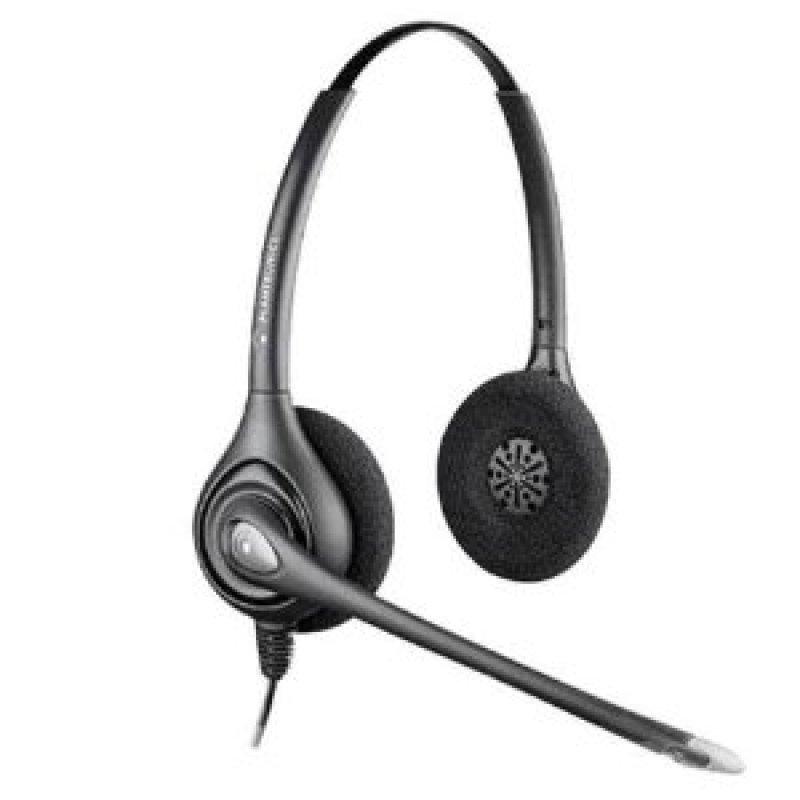 Plantronics Supraplus Hw261N Binaural Noise Cancelling Headset