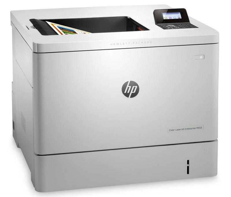 *HP M553dn LaserJet Enterprise Colour Laser Printer