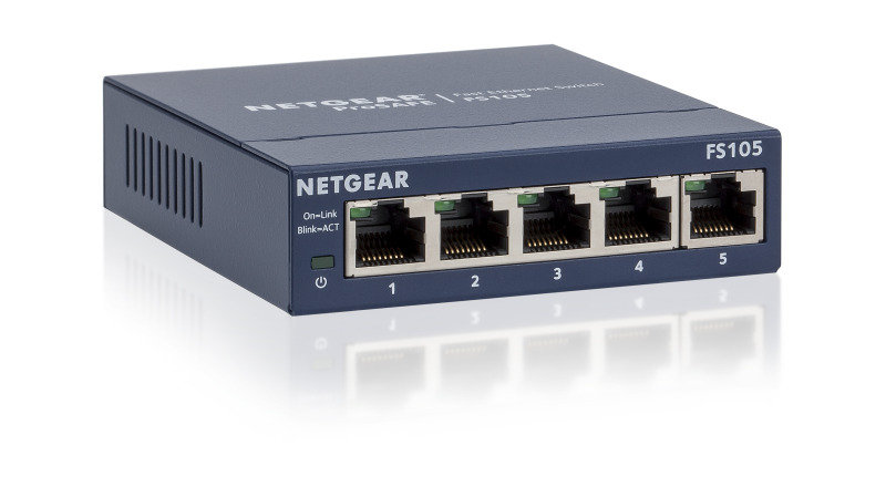 Netgear ProSAFE 5-port 10/100 Desktop Switch