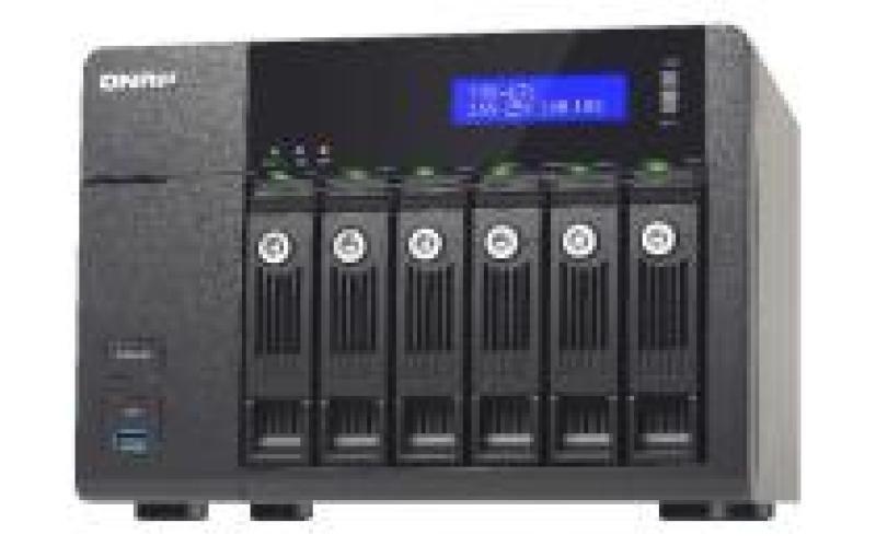 Image of QNAP TVS-671-i5 (8GB RAM) 6 Bay NAS Enclosure