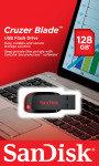 SanDisk SDCZ50-128G-B35 128GB Cruzer Blade USB Drive