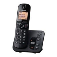 Panasonic KX-TGC220eb Single Dect Phone - Black