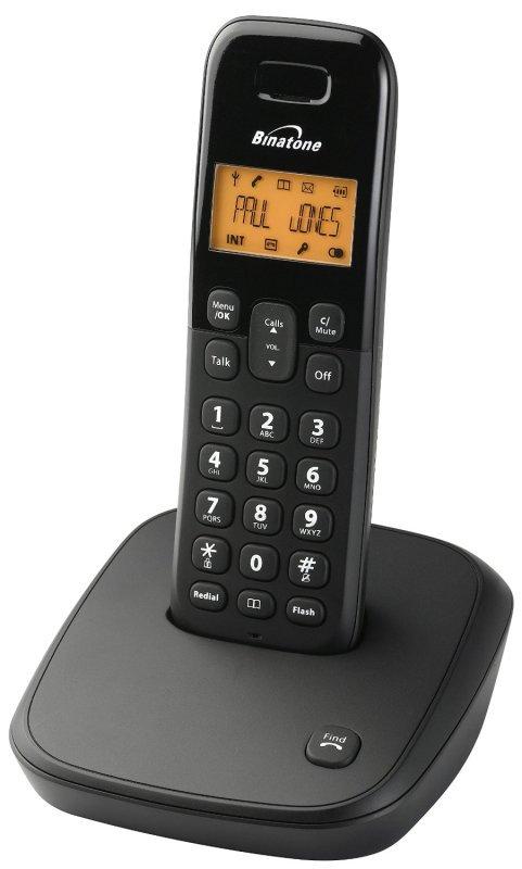 Image of Binatone Veva 1700 Single DECT Phone - Black