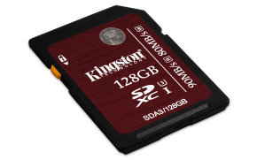 Kingston 128GB  SDHC/SDXC UHS-I Memory Card