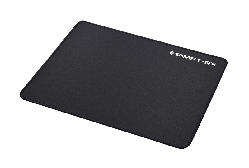 Cooler Master Swift-RX Small Gaming Mouse Mat, 250x210mm, lightweight, Low friction fibre surface, Stitched edging, non-slip grip base