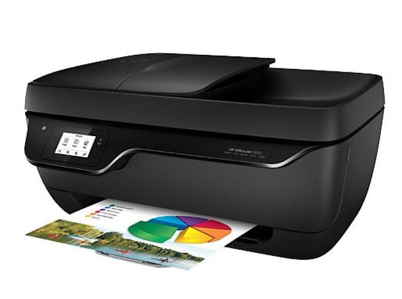 HP OfficeJet 3830 AllinOne MultiFunction Wireless Colour Inkjet Printer