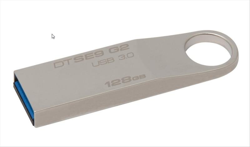 Kingston DataTraveler SE9 G2 USB 3.0 128GB Flash Drive