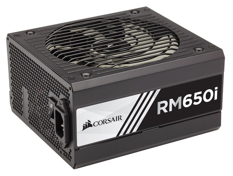 Corsair RM650i RMi Series 650 Watt Fully Modular Power Supply Unit (80 Plus Gold Certified)