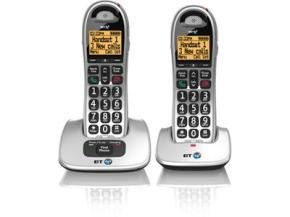 BT 4000 Big Button Twin DECT Phone