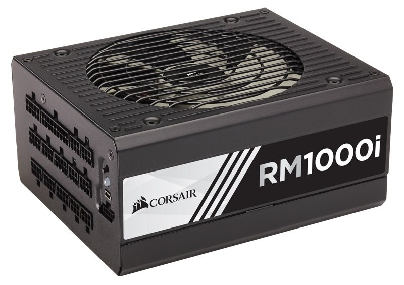 Corsair RM1000i RMi Series 1000 Watt Fully Modular Power Supply Unit (80 Plus Gold Certified)