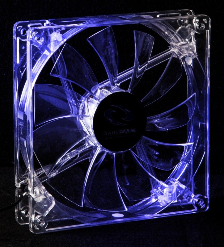 Image of Raidmax 140mm LED Computer Fan Blue
