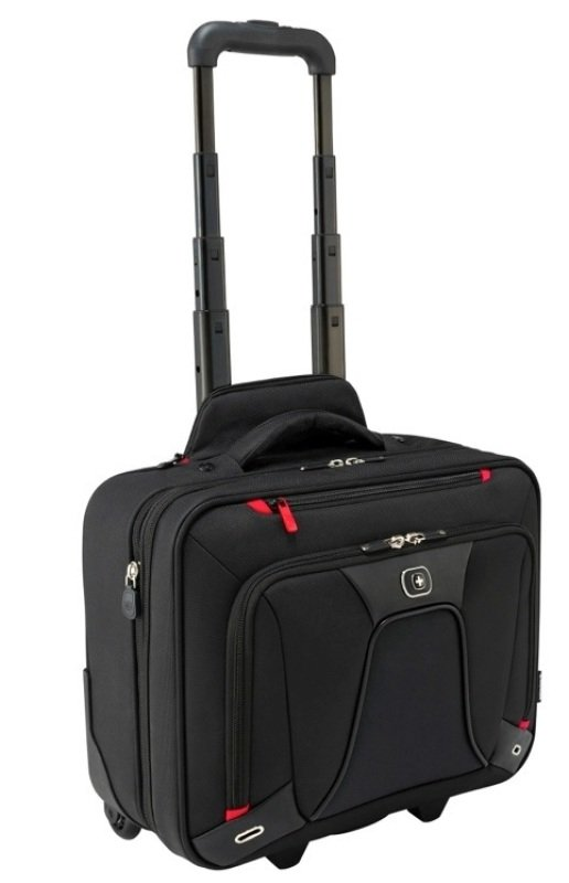 """Image of Wenger Transfer Expandable Wheeled Laptop Case For Laptops up to 16"""""""