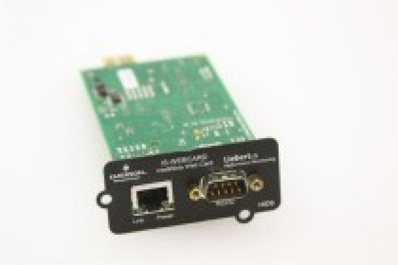 Emerson Liebert ISWEBCARD IntelliSlot Web Interface Card