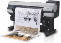 "Canon imagePROGRAF iPF815 44"" Large Format Printer"