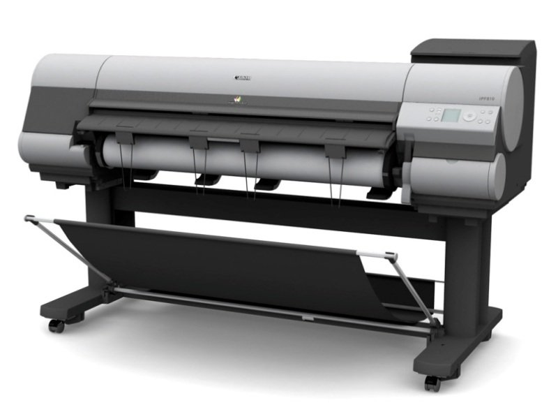 "Canon iPF825 44"" (B0+) Dual Roll Large Format Printer"