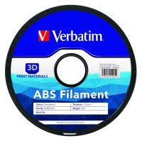Verbatim ABS 1.75mm Filament 1kg - Tranparent