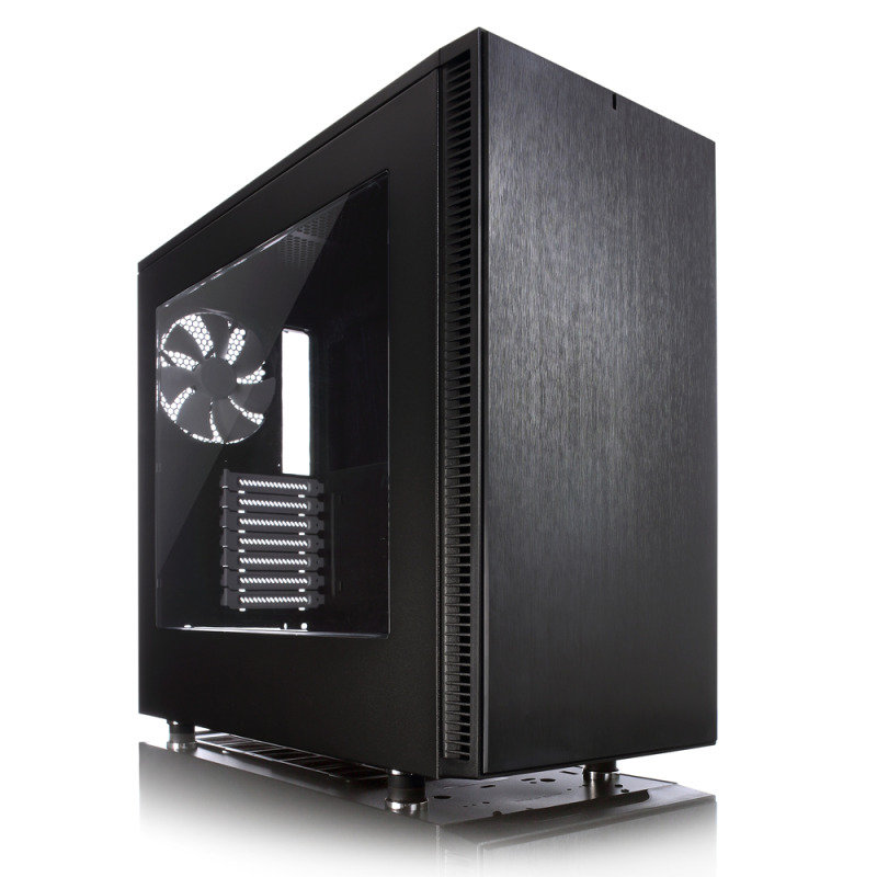 Fractal Design Define S Computer Chassis With Windowed Side Panel