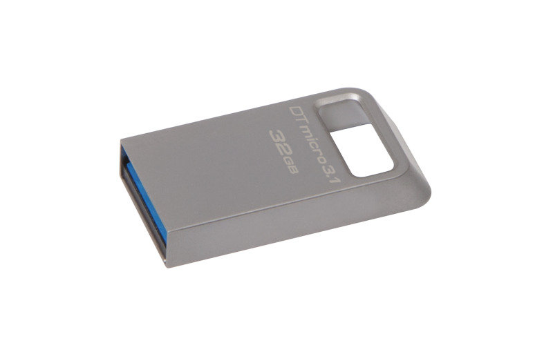 Kingston DataTraveler 32GB Micro USB 3.1 Metal Ultra-compact Flash Drive
