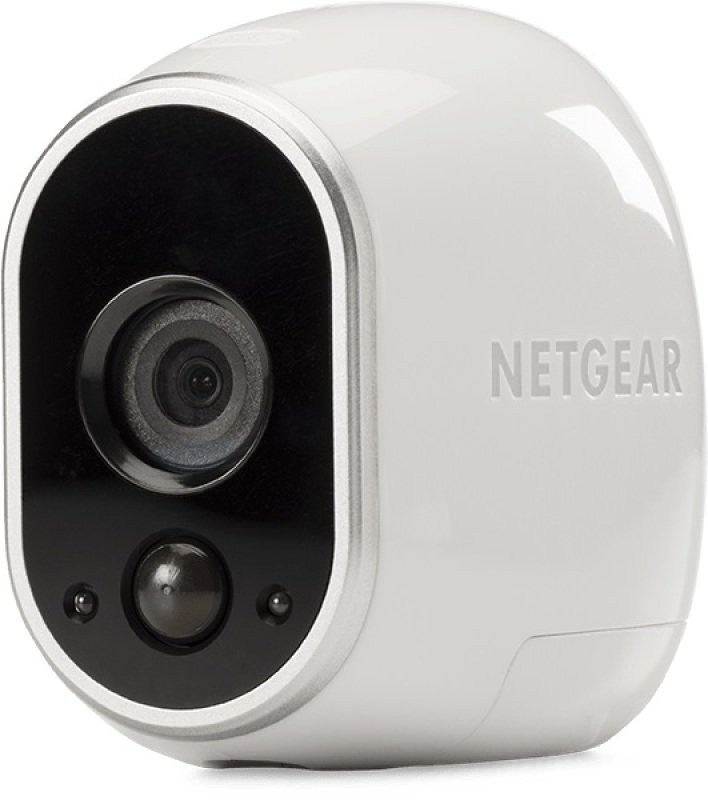 NETGEAR Arlo Smart Home 1x HD Cameras Security System -100% Wire-Free, Indoor/Outdoor with Night Vision