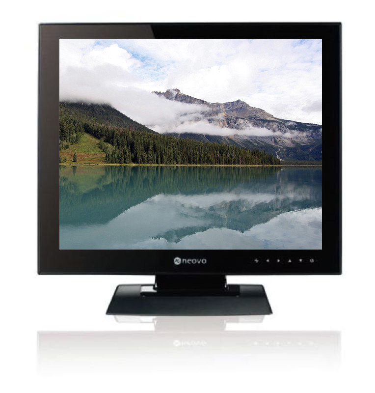 Image of AG Neovo Eco U-19 19 Inch LCD Monitor with NeoV Glass