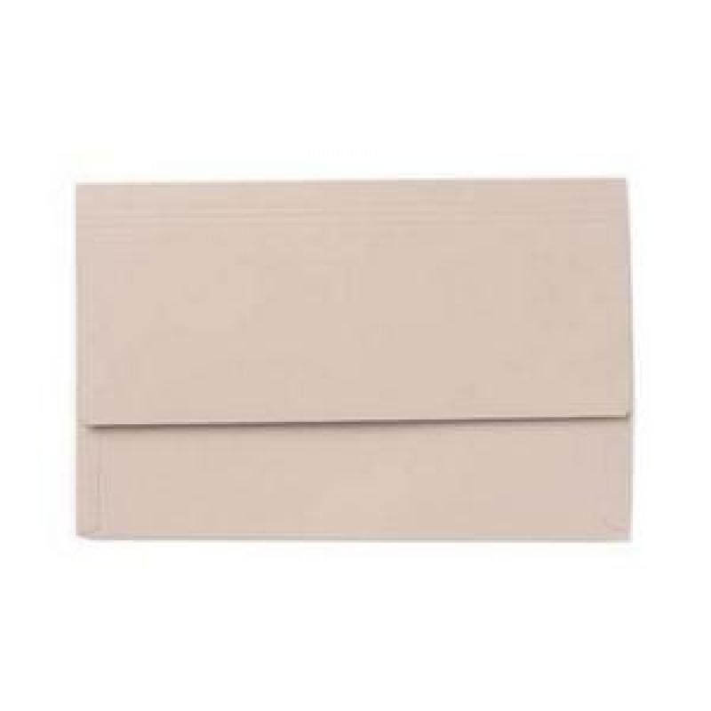 Value Document Wallet Foolscap Buff - Pack of 50