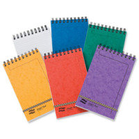 Europa Minor Pad Wirebound Ruled 120 Page Assorted - Pack of 20
