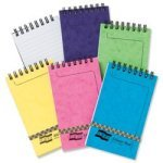 Europa Minor Notepad Wirebound Elasticated Ruled 80gsm - 120 Pages