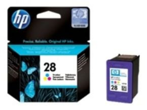 HP 28 Colour Inkjet Cartridge - C8728AE