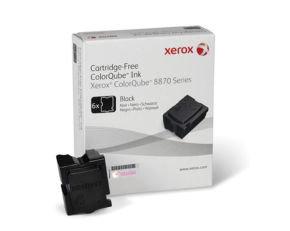 Xerox SOLID INK BLACK (6 STICKS) - F/ 8870
