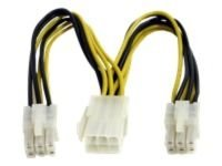 StarTech.com PCI Express Power Splitter Cable 0.15m