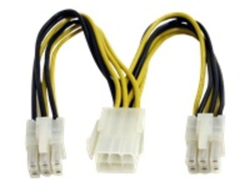 StarTech.com PCI Express Power Splitter Cable 0.15m