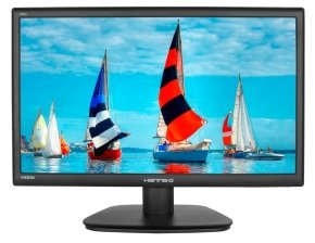 EXDISPLAY Hanns G Hs221hpb 21.5 Inch Wide Ips Led 1920 X 1080 Vga Dvi Hdmi Speakers Black