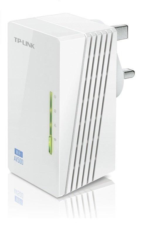 EXDISPLAY TP-Link AV500 Powerline Homeplug WiFi Extender with 2 LAN