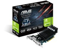 EXDISPLAY Asus GT 730 Silent 2GB DDR3 VGA DVI HDMI PCI-E Graphics Card