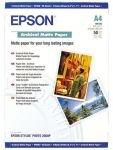 Epson Archival A4 192gsm Matte Photo Paper - 50 Sheets