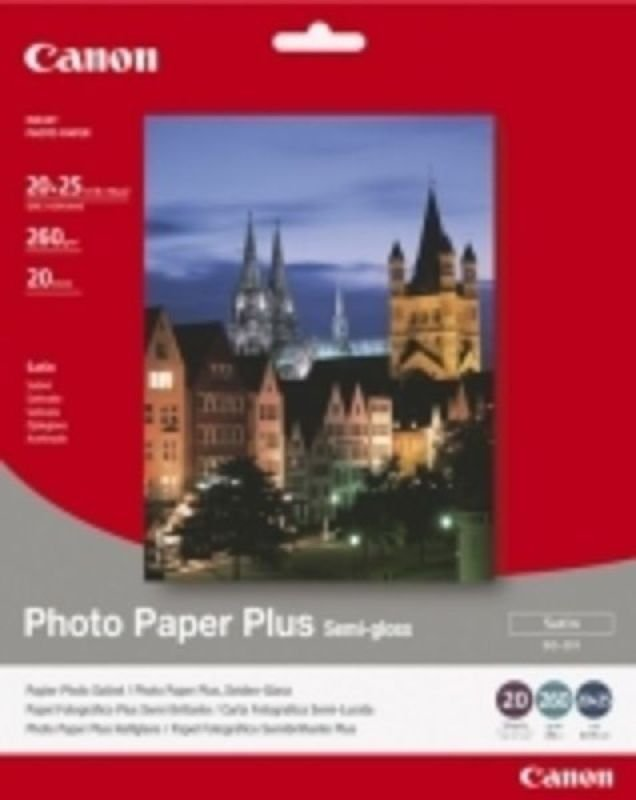 Canon SG-201 Bubble Jet Paper 8 x 10in (Pack of 20)