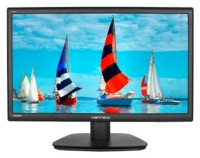 EXDISPLAY Hanns G Hs271hpb 27 Inch Wide Ips Led 1920 X 1080 Vga Dvi Hdmi Speakers Black