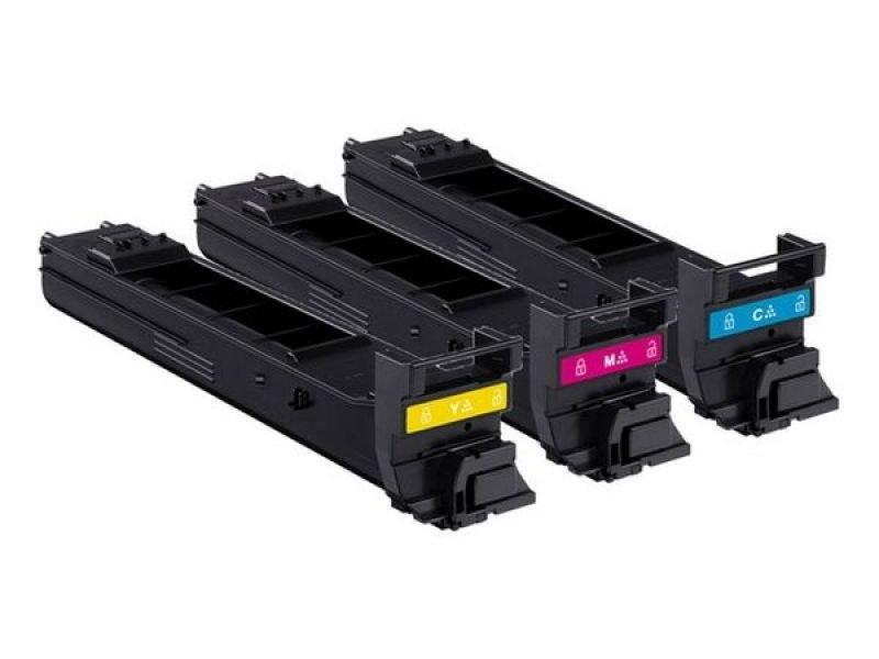 Image of Konica Minolta A0DKJ52 High Yield Colour Toner Value Kit