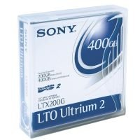 Sony LTO-2 Ultrium 200/ 400GB (609m) Data Cartridge - 20 Pack